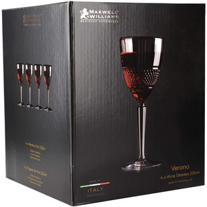 Maxwell & Williams - Verona - 4 x wine glasses