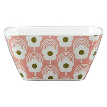 Load image into Gallery viewer, Orla Kiely Bamboo Bowl Lollipop Flower Bubblegum Front view