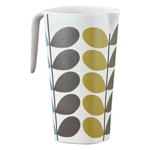 Load image into Gallery viewer, Orla Kiely Bamboo Jug Solid Stem Multicolour reverse