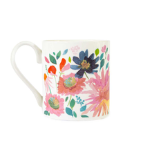 Load image into Gallery viewer, the other side of the mug with the pattern continued
