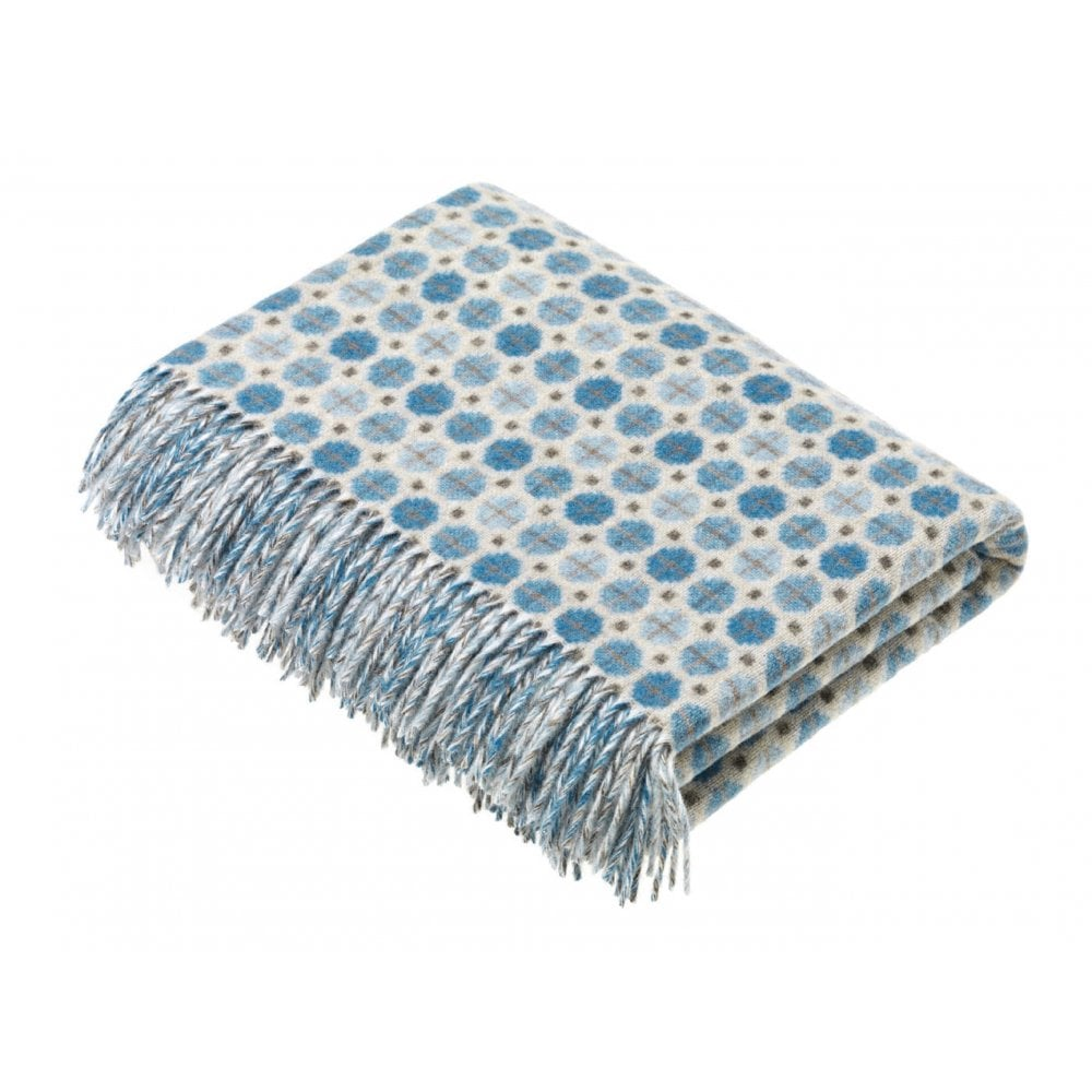 Bronte by Moon Milan throw in Aqua