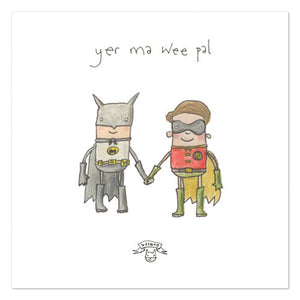 Batman and robin Print