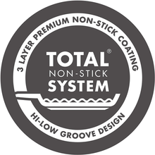 Load image into Gallery viewer, the total non stick system sticker