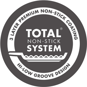 the total non stick system sticker