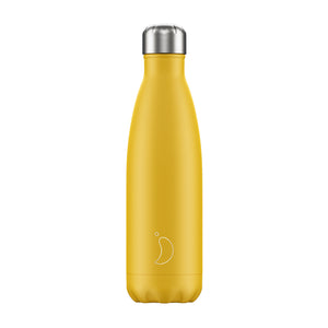 Chilly's Burnt Yellow Matte 500ml Bottle