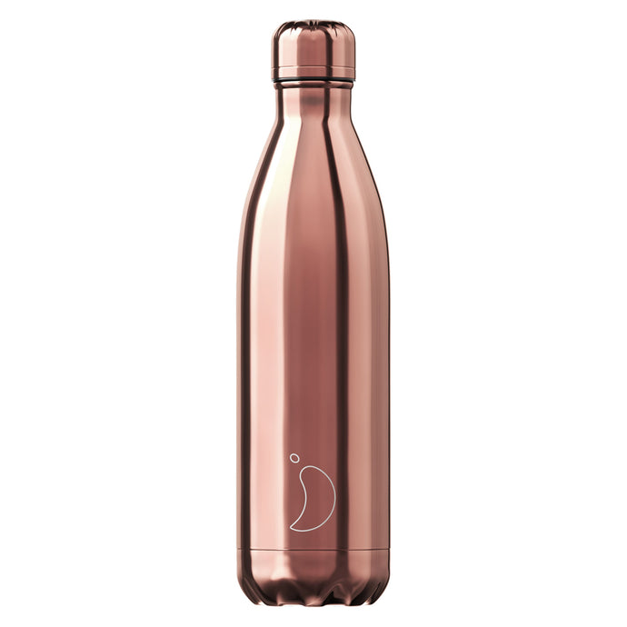 Chilly's Bottle Chrome Edition Rose Gold 750ml