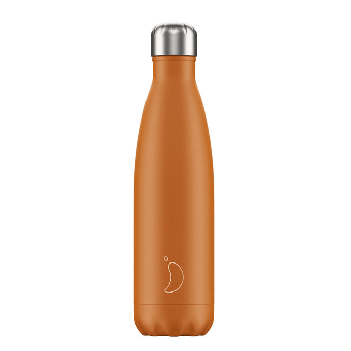 Chilly's Bottle Matte Burnt Orange 500ml