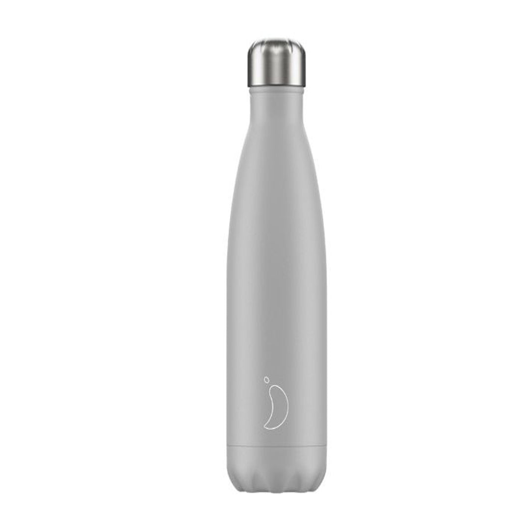 Chilly's Bottle Monochrome Light Grey 500ml