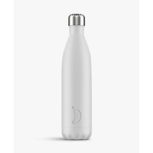 Chilly's Bottle Monochrome White 500ml