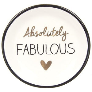 Absolutely Fabulous Ring Dish - Papyrus