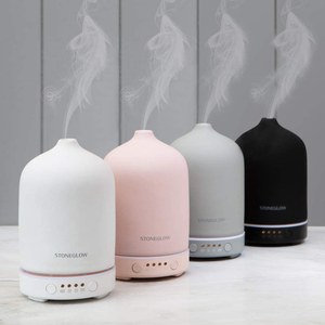 The diffuser displayed with the other coloured versions
