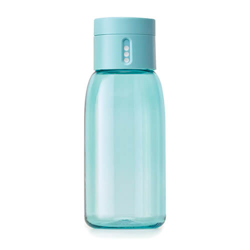 Dot Hydration Water Bottle by Joseph Joseph Blue