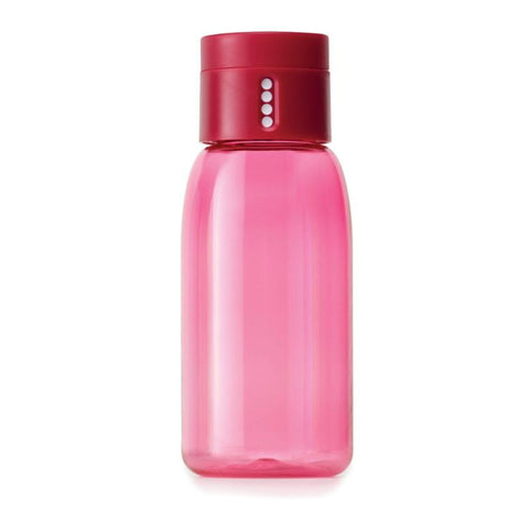 Dot Hydration Water Bottle by Joseph Joseph Pink