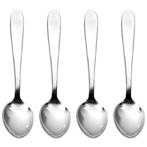the four spoons displayed in a row