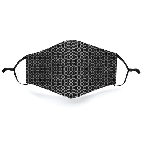 Black Mesh Face Mask