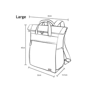 Roka Finchley A Large Sustainable Bag Dimensions
