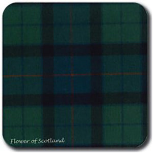 Flower of Scotland Tartan Coaster Set of 4 - Papyrus