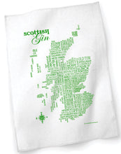 Load image into Gallery viewer, Scottish Gin Tea Towel