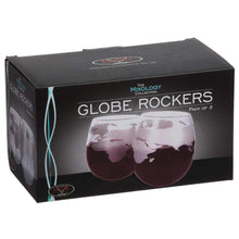 Load image into Gallery viewer, Globe Whisky Rockers Set of two glasses
