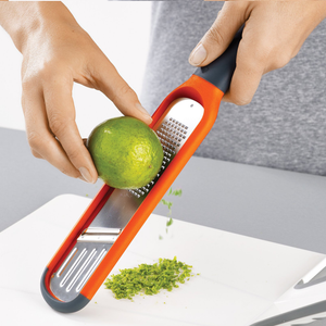 The Handi-Grate zesting a lime