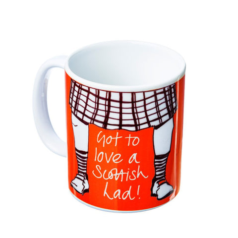 Scottish Lad Mug