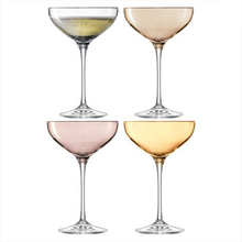 Load image into Gallery viewer, LSA metallic champagne coupe