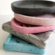 Load image into Gallery viewer, Concrete Soap Dish - Turkish Delight