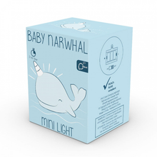 Load image into Gallery viewer, Baby Narwhal Night Light