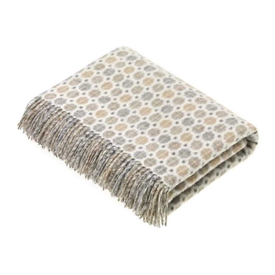Bronte by Moon Milan throw in Natural