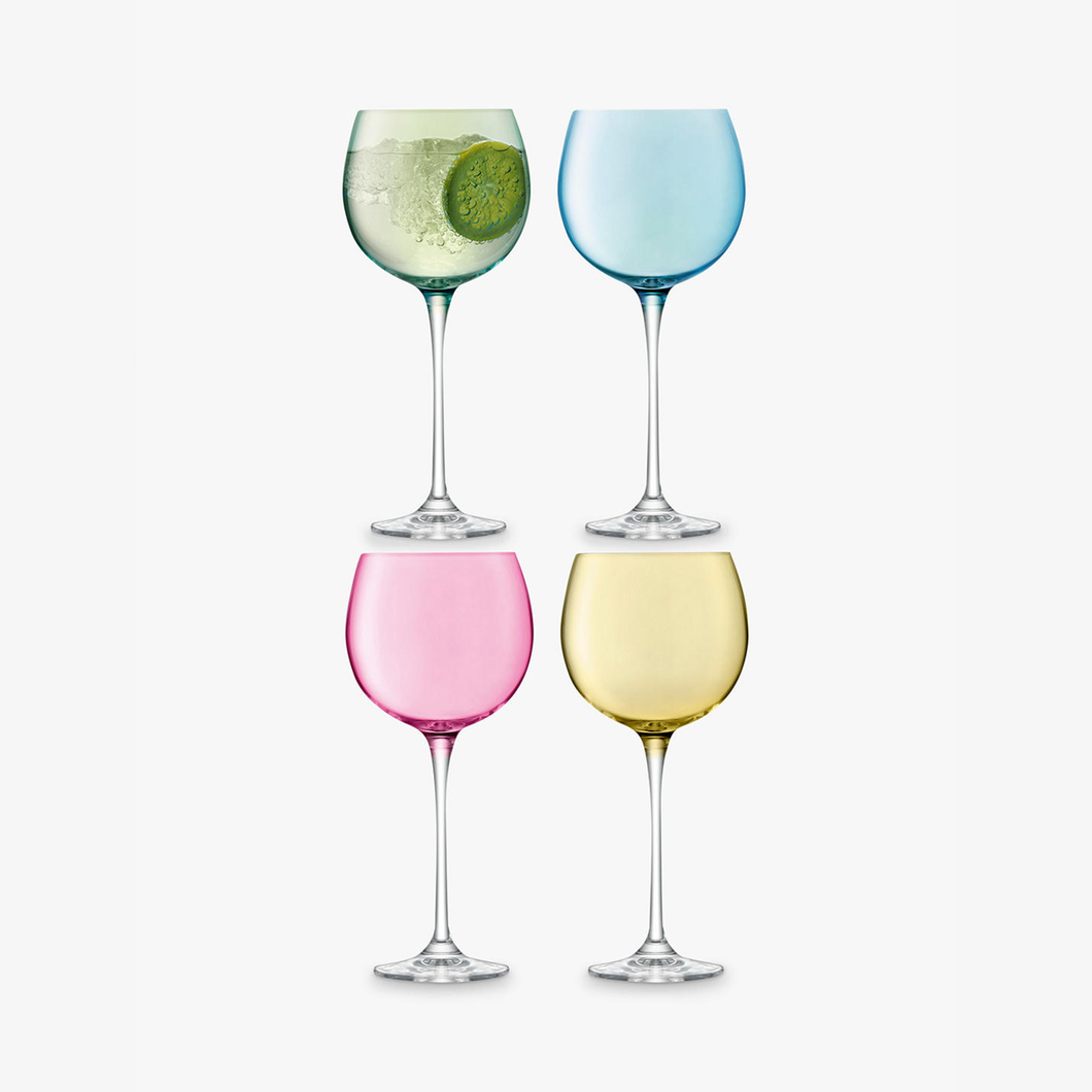 LSA polka balloon glasses