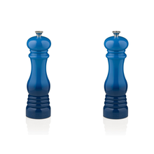 Load image into Gallery viewer, Le Creuset Classic Salt & Pepper Mill Set - Marseille Blue