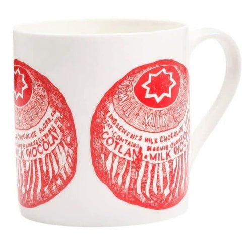 Tunnocks Teacake Mug by Gillian Kyle