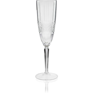 a champagne flute displayed on it's own