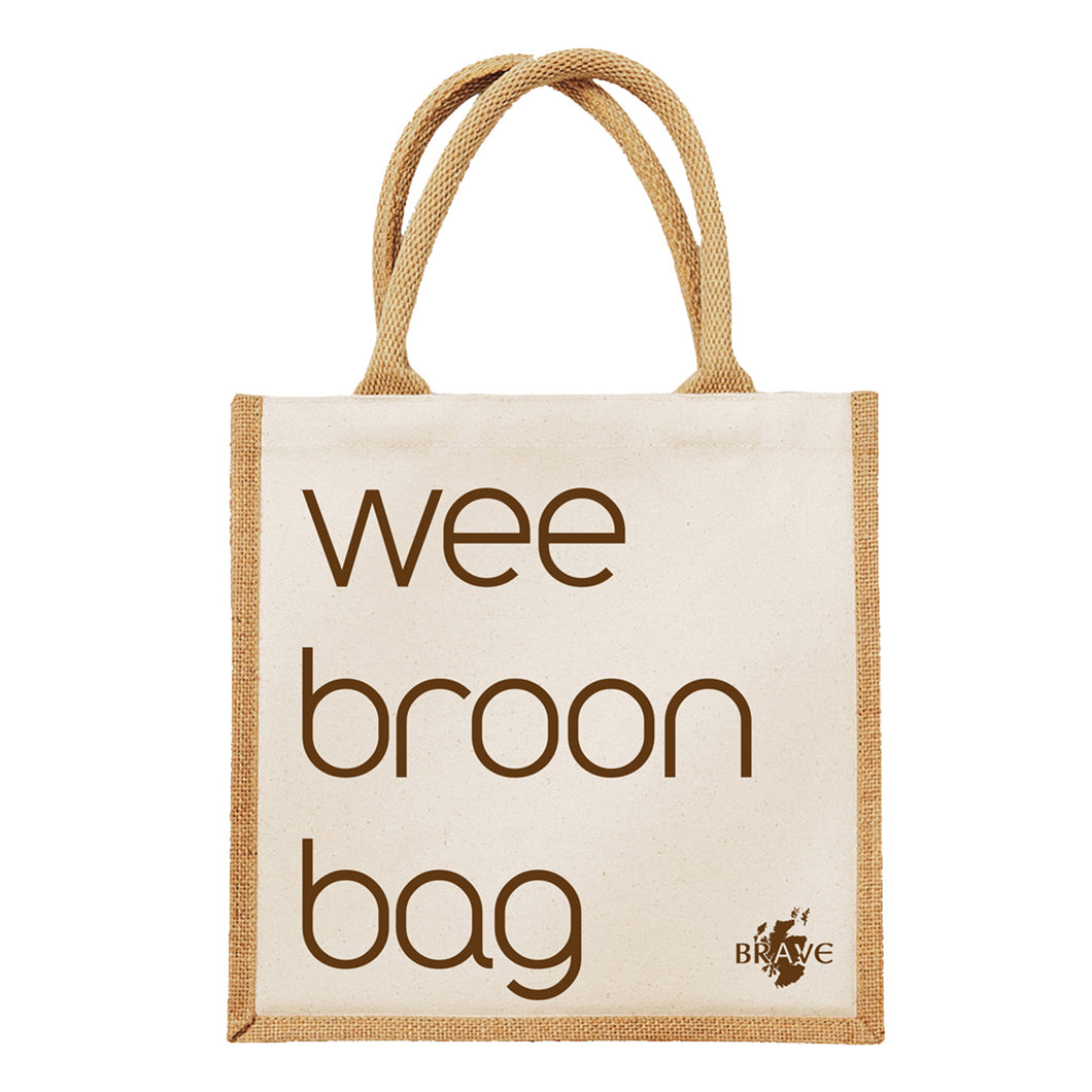 'Wee Broon Bag' Eco-Friendly Jute Bag