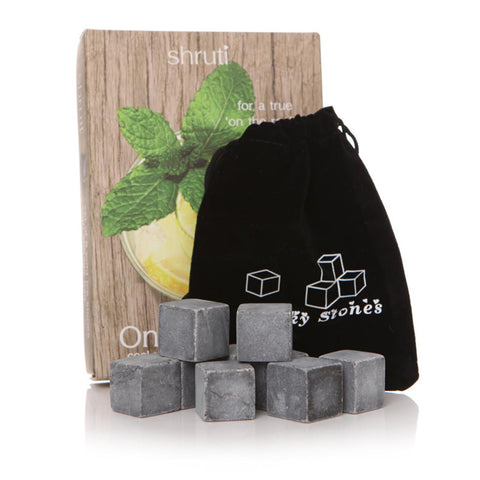 On the Rocks Whisky Stones - Set of 9