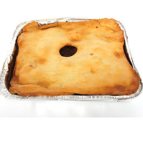 Catering Potato & Meat Pie