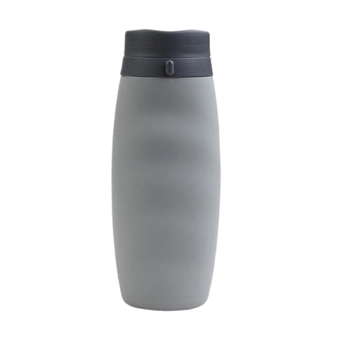 600ml Portable Silicone Foldable Water Bottle BPA Free Drink Bottle Outdoor Sport Water Bottles