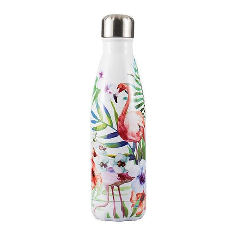 Bouteille Isotherme Flamant Rose - 500ml | SimpleDrinking