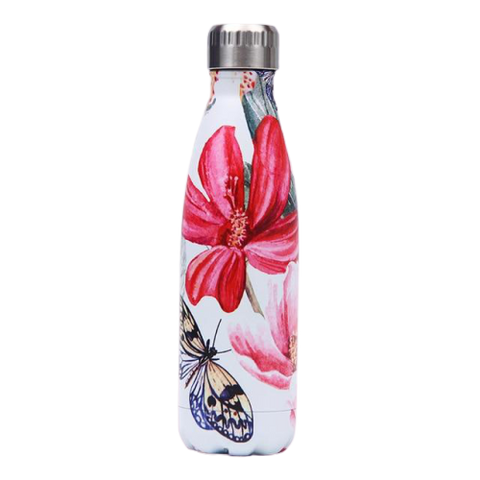 Bouteille Isotherme Fleur d'Hibiscus - 500ml | SimpleDrinking