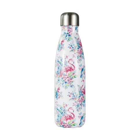 Bouteille Isotherme Fleur Flamingo - 500ml | SimpleDrinking