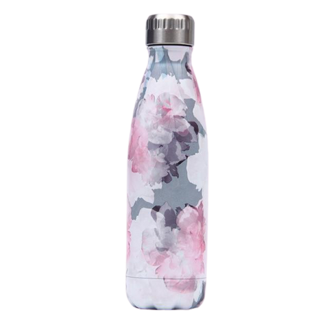 Bouteille Isotherme Motif fleur - 500ml | SimpleDrinking