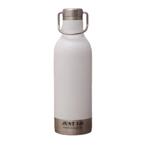 Gourde Isotherme Banche Mat - 500ml | SimpleDrinking