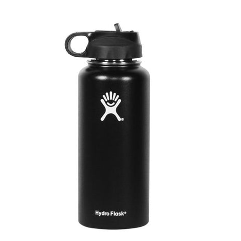 Gourde Isotherme Hydroflask All Black  | SimpleDrinking
