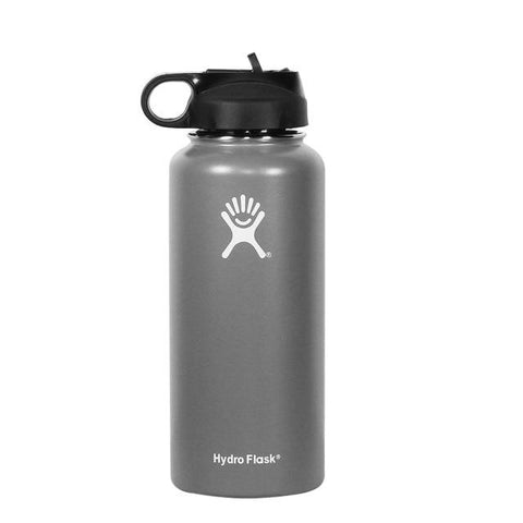 Gourde Isotherme Hydroflask Grise - | SimpleDrinking