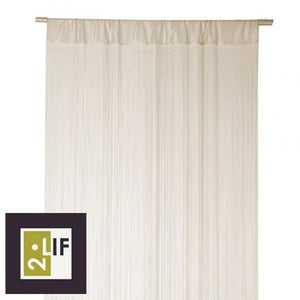 You added <b><u>Flueforhæng Waterfall 100x250 cm - creme</u></b> to your cart.