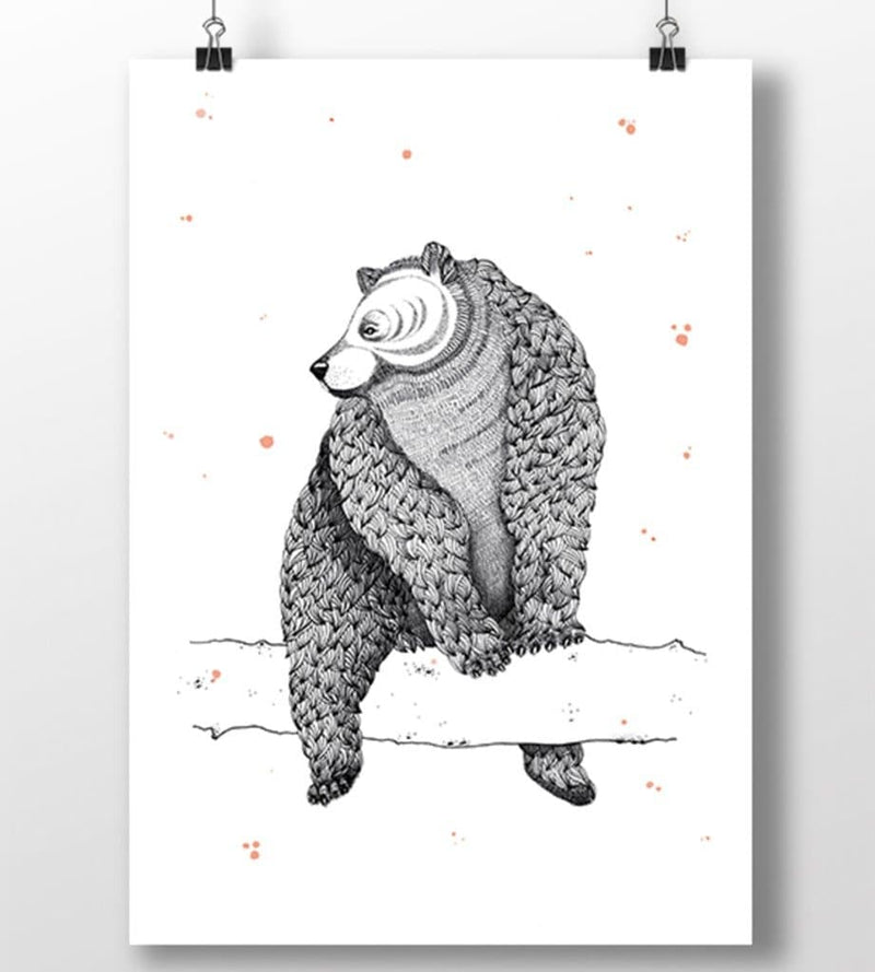 Female Bear A3