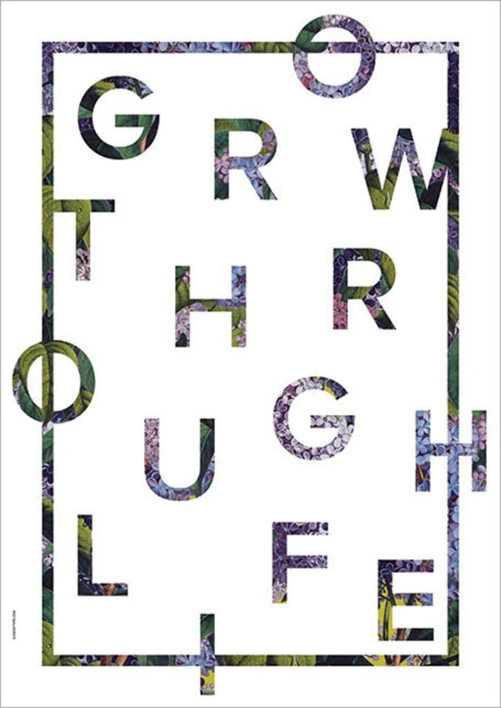 Grow Through Life A3