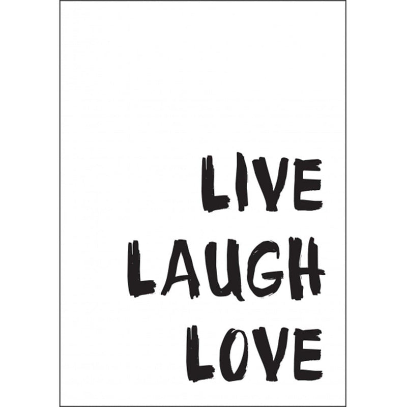 Live Laugh Love A5