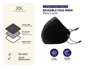 Reusable Face Masks - 3 Layer Protection