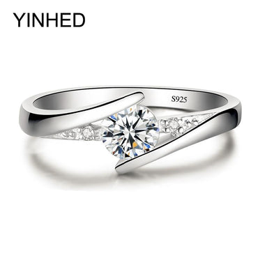 Pure 925 Sterling Silver Promise Ring